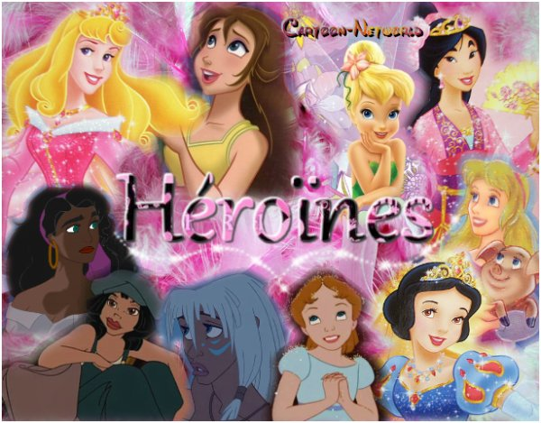 Mon Top héroïnes Disney