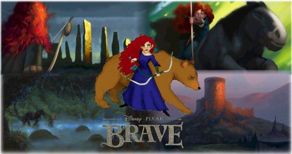 Brave - le prochain Disney Pixar