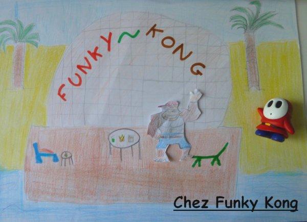 Entrescène : Chez Funky Kong