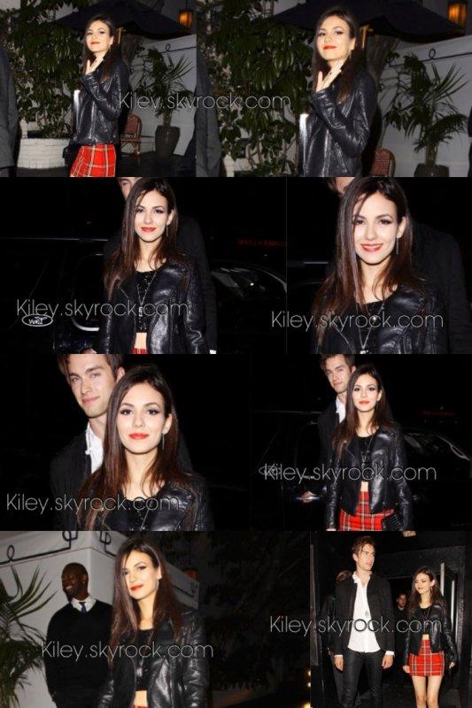 """Le 26/05/2014 Victoria et son petit ami Pierson Fode était à une fête organiser par le magazine américain """" NYLON """" + le 27/05/2014 vic et son boyfriend , était inviter à l'anniversaire de l'actrice Debby Ryan + photos personnelle"""