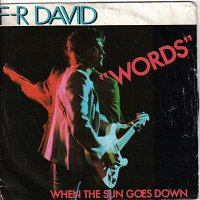 FR David - Words (1980)