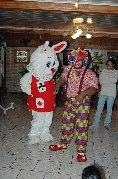 PinPin et le Clown en Spectacle