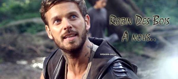 """.  Le clip """" A Nous """" de la troupe de Robin Des Bois est enfin en ligne !   Comment trouvez vous Matt dans le clip ? ."""