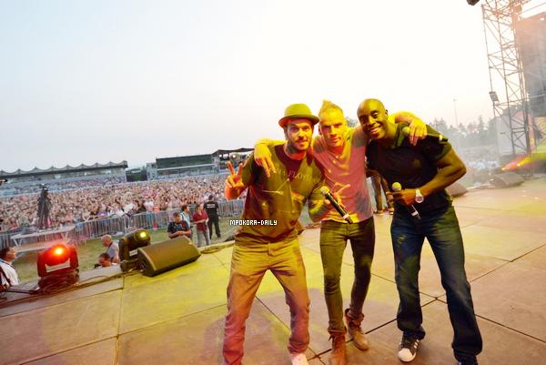 .  Le 13 Juillet Matt, Nyco Lilliu et Marc Antoine se sont rendus à Feurs   ( Région Loire et la région Rhône-Alpes ) pour le concert organisé par Radio Scoop ! .