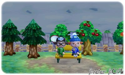Photo du Moment Animal Crossing New Leaf.