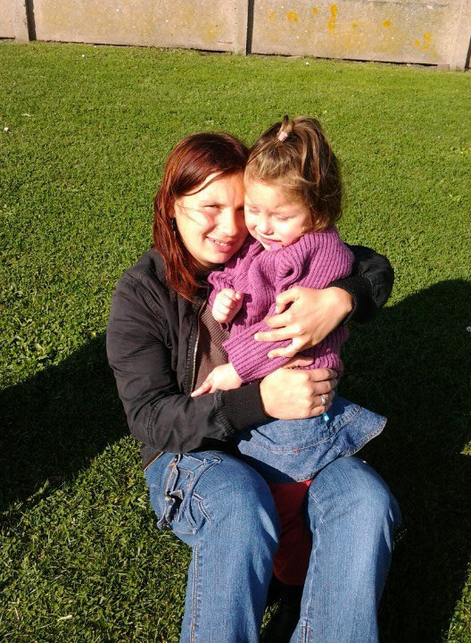 ma niece et sa petite fille