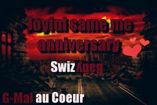 Joyful same me anniversary