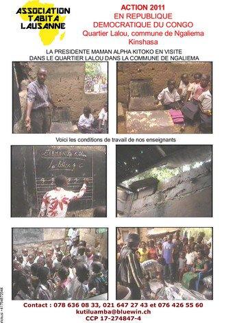 ACTION DE L'ASSOCIATION TABITA 2010-2011 AUPRèS DES JEUNES DE LA RUE