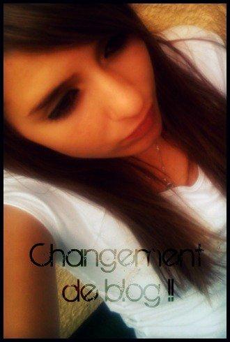 Je Veut Un Peu De Changement :D