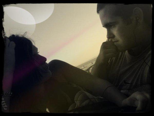 Elle + Moi = Nous !! je t'aime mon ange