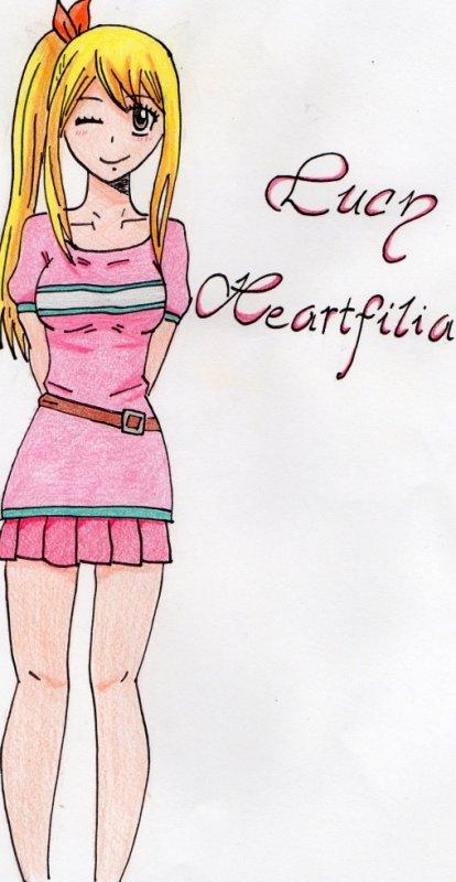 dessin Lucy Heartfilia