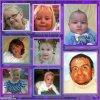 voila une photo avec tous tes petits enfants