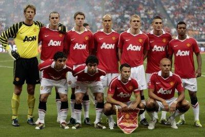 L'équipe de Manchester United