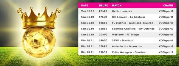 Jupiler pro League  - 14° journée - Calendrier
