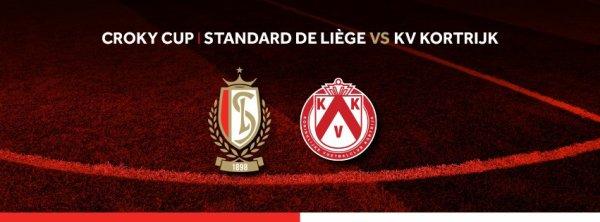 Croky Cup - 1/4 de finale - Standard Liège vs KV Kortrijk