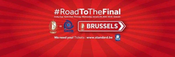Croky Cup - 1/2 de finale - KRC Genk vs Standard Liège