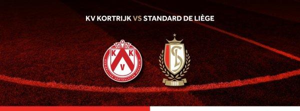 Play Off 2 A - 5° journée - KV Kortrijk vs Standard Liège