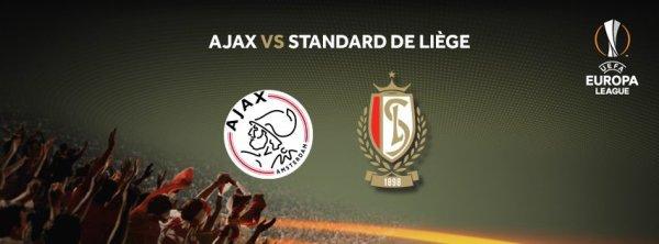 Europa League - 2° journée - Ajax Amsterdam vs Standard Liège