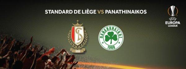 Europa League - 3° journée - Standard Liège (B) vs Panathynaikos (GR)