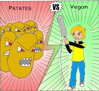 Patates VS Vegan...
