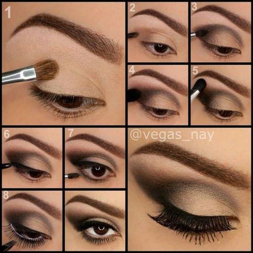 Make up tuto #1 Naturel/Marron