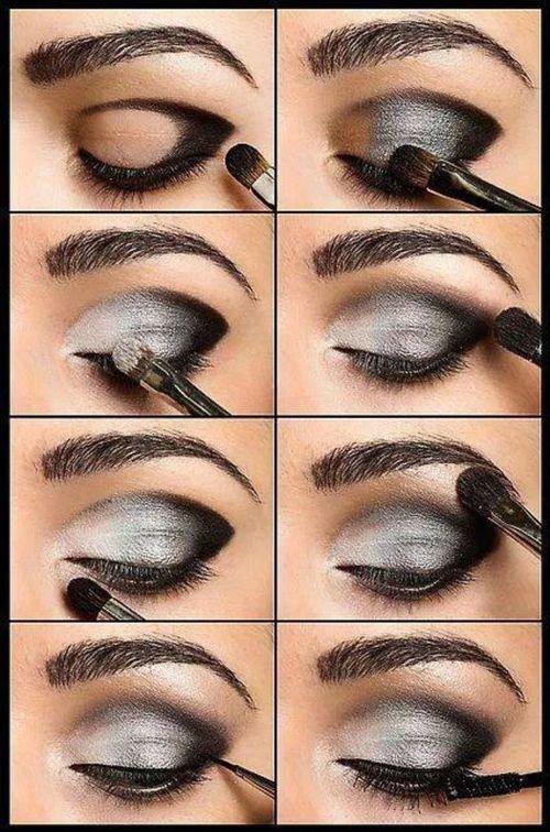 Make up tuto 4#  Gris