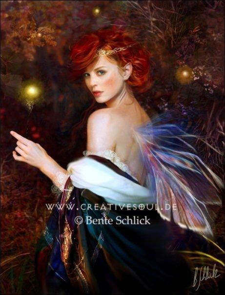 Fée 6 de Bente Schlick