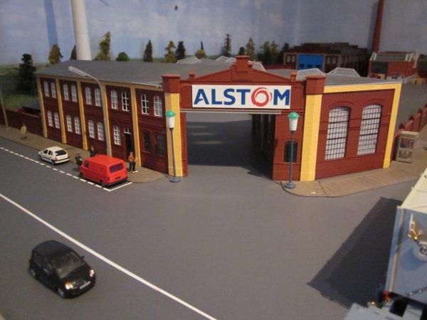 Diorama Alstom
