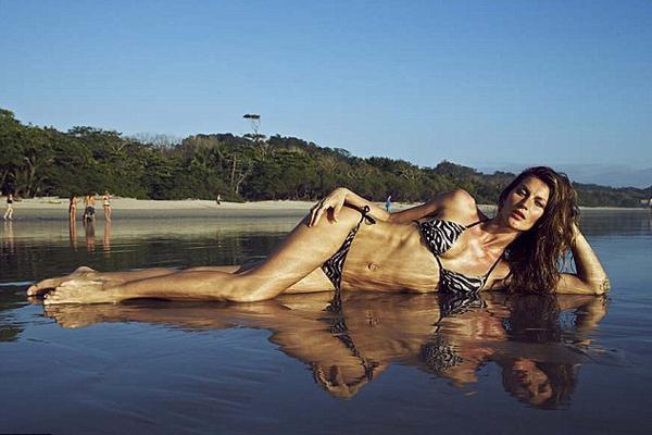 Gisele Bündchen pose pour H&M