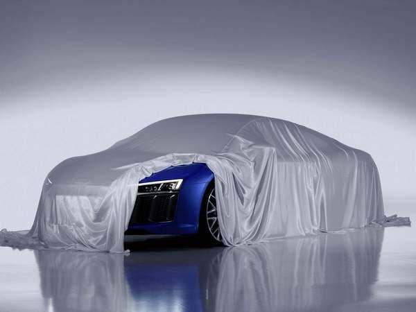 Genève 2015 : Audi expose l'éclairage laser de la nouvelle R8