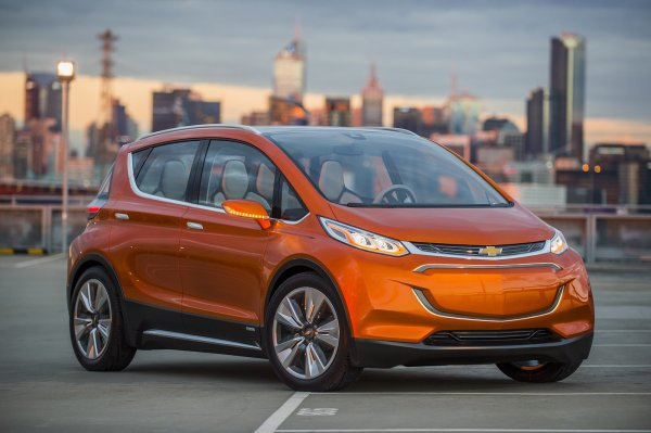 Detroit 2015: Chevrolet Bolt EV