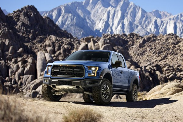 Detroit 2015: Ford F-150 Raptor