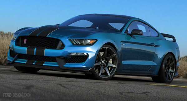 Detroit 2015:Shelby GT350R Mustang