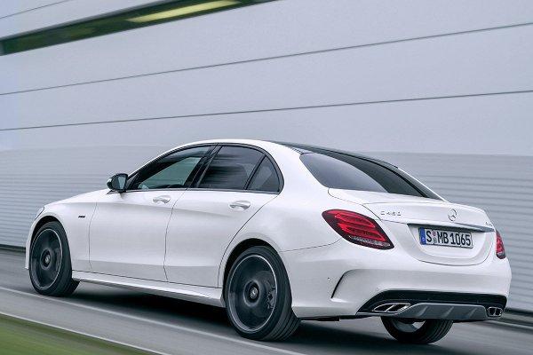 New Mercedes C450 AMG Sport