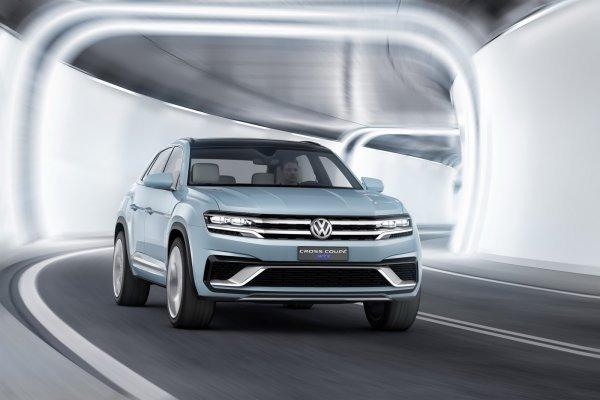 Detroit 2015 : Volkswagen dévoile le Cross Coupe GTE