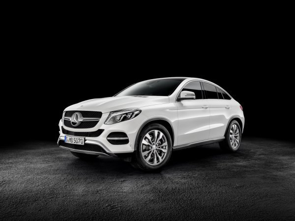 Mercedes GLE Coupé : officiel