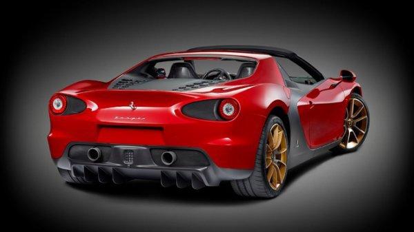 Ferrari dévoile la Sergio