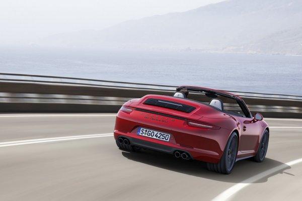 Porsche : La nouvelle 911 Carrera GTS se dévoile