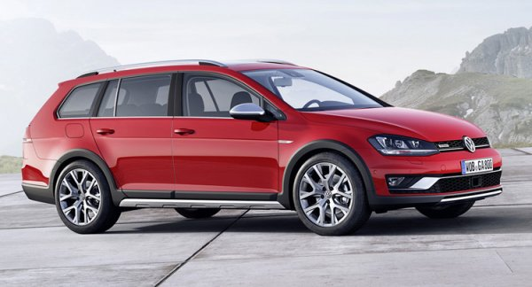 VW Golf Alltrack Crossover