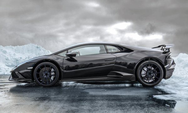 Lamborghini Huracan revue par Mansory