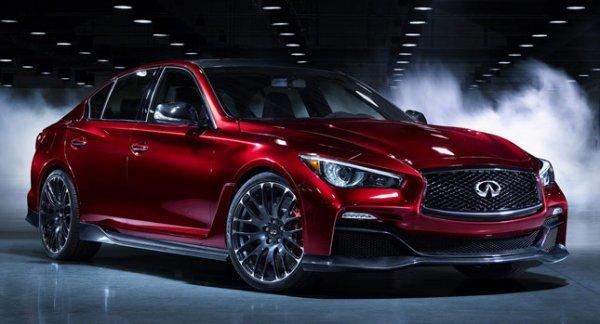 Infiniti Q50 Nouvelle Eau Rouge Concept, dit que si Montage, comptera plus de 500ch!