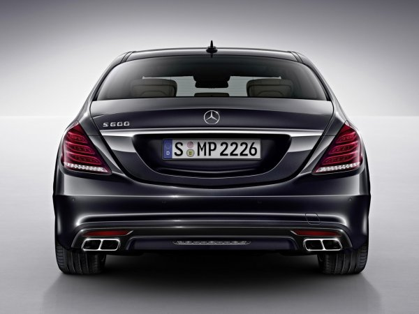 First Look officiel à New V12 S600 de Mercedes-Benz