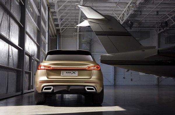 Pékin 2014 : Lincoln MKX Concept