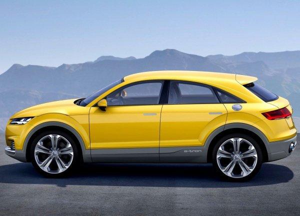 Audi TT Offroad Concept : Pour annoncer le Q4 ou le TT Allroad...