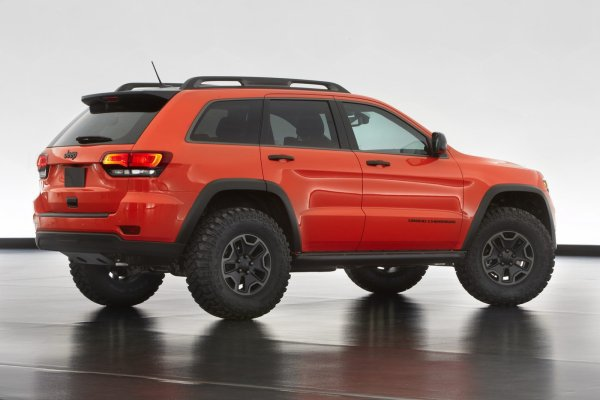 Jeep Grand Cherokee Diesel Trailhawk Concept