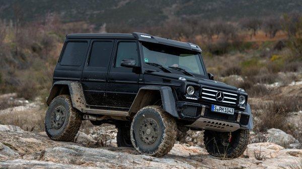 Salon de Genève - Mercedes-Benz G500 4x4²