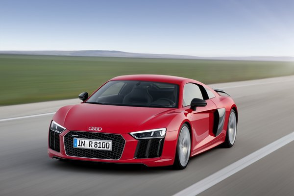 Salon de Genève 2015 - Audi officialise la R8
