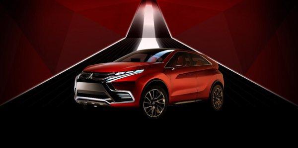 Salon de Genève 2015 - Mitsubishi Concept XR-PHEV II, revirement réaliste