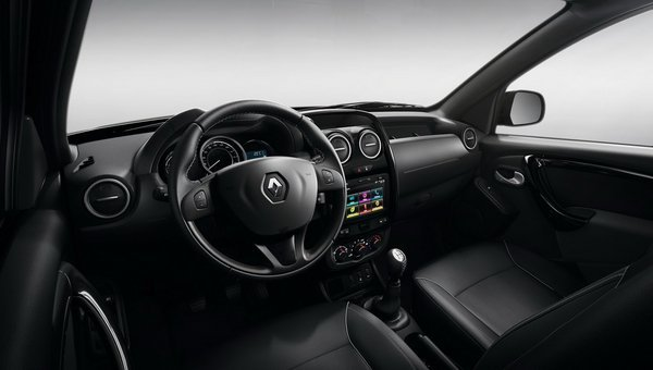 Renault Duster Oroch : officiel