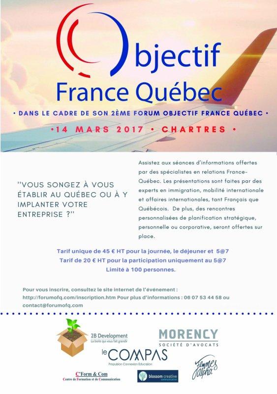 2ème Forum Objectif France - Québec